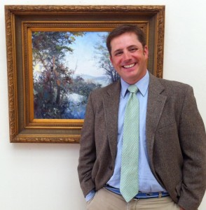 The newly-appointed Lyme Art Association Executive Director Joe Newman.