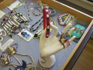 Examples of the beaded jewelry and other items that will be available at the Tribal Crafts Holiday Sale.