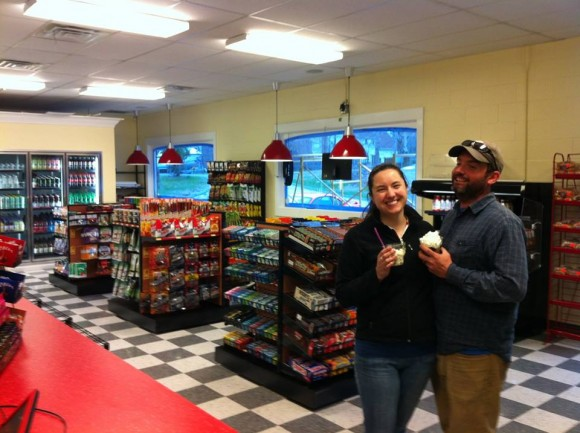 The South Lyme Scoop Shop has doubled in size.
