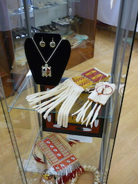 Assorted Lakota crafts and jewelry