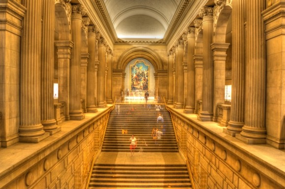 "Howard Margules' award-winning photo titled, ""The Metropolitan Museum of  Art."""