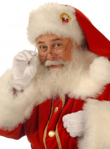 Santa will be in Old Lyme on Saturday.