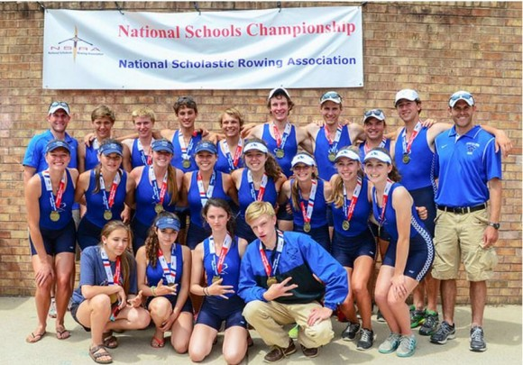 An extraordinary feat -- every Lyme-Old Lyme HS rower who went to the National regatta won a gold medal.