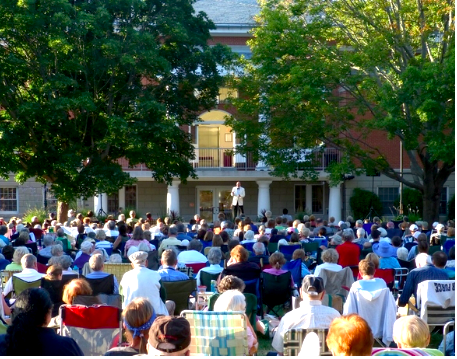 "It's always a wonderful evening at Salt Marsh's ""Opera in the Park"" in Old Saybrook."
