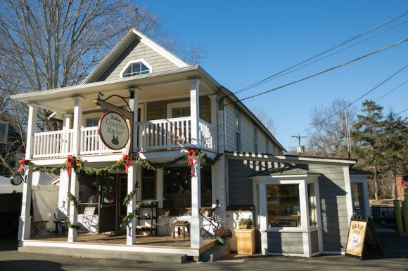 Hadlyme Country Market has a refreshed and welcoming exterior.
