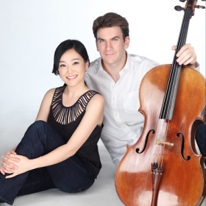 Cellist Edward Arron and pianist Jeewon Park