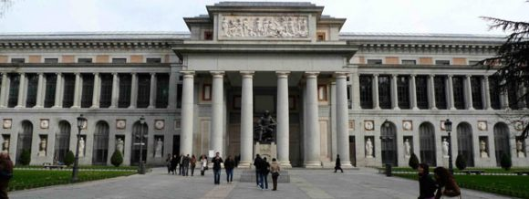 The Prado Museum in Madrid, Spain.