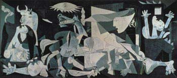 'Guernica' by Pablo Picasso is one of the most famous paintings in the world.