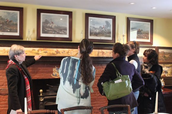 On May 7, Community Free Day visitors will hear about life in an artists' boardinghouse at the Florence Griswold Museum in Old Lyme.